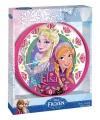 Disney frozen wandklok roze