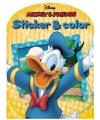 Disney kleurboek mickey mouse en vrienden