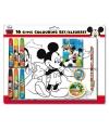 Disney kleurset mickey mouse 16 delig