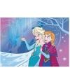 Frozen anna en elza speelkleed roze