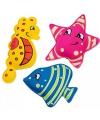 Gekleurde duikdiertjes 3 stuks