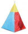 Gekleurde indianen tent