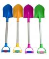 Gekleurde speelgoed schep 55 cm
