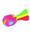 Gekleurde waterbom torpedo