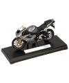 Grijze triumph shadow speelgoed motor 11 cm