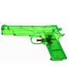 Groen speelgoed waterpistool 20 cm
