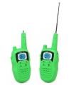 Groene walkie talkie set voor kids