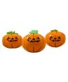 Halloween opblaasbare pompoenen 3 stuks