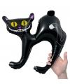 Halloween opblaasbare zwarte kat 41 cm