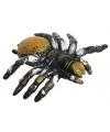 Halloween plastic knijpdier gele spin