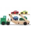 Houten auto transporter truck