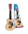 Houten gitaar 55 cm voor kinderen