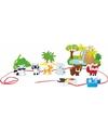 Houten safari speelgoed set 12 delig