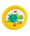 Intex kinder opblaas zwembad geel 61 cm