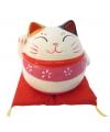 Japanse gelukskat spaarpot 10 cm