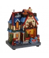 Kersthuisje speelgoedwinkel