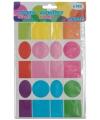 Kinder hobby stickers gekleurd 6 vellen