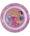 Kinder ontbijtbord prinsessen 22 cm