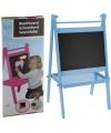 Kinder schoolbord blauw