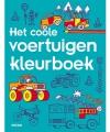 Kleurboek coole voertuigen