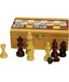 Luxe houten schaakstukken