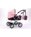 Luxe poppen kinderwagen met luiertas