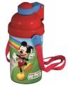 Mickey mouse drinkbeker rood met koord