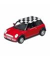 Mini cooper speelgoed modelauto 1 34