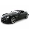 Modelauto alfa romeo 8c competizione zwart 1 18