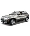 Modelauto bmw x5 grijs metallic 1 18
