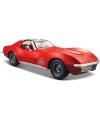 Modelauto chevrolet corvette cabrio 1970