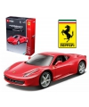 Modelauto ferrari 458 italie rood race play kit 1 32