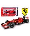 Modelauto ferrari f14t formule 1 rood 1 43