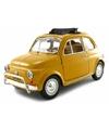 Modelauto fiat 500 l 1968 1 24
