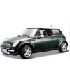 Modelauto mini cooper groen 1 18
