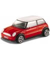 Modelauto mini cooper rood 1 43