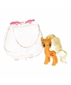 My little pony paardje in tasje applejack 8 cm