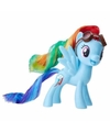 My little pony speelfiguur paardje rainbow dash 7 cm