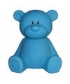 Nachtlampje beer blauw 18 cm