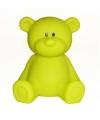 Nachtlampje beer geel 18 cm