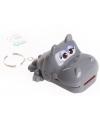 Nijlpaard tandarts spel aan sleutelhanger