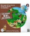 Opblaas wereldbol dieren 50 cm