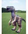 Opblaasbare levensechte velociraptor 244 cm