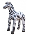 Opblaasbare zebra 142 cm