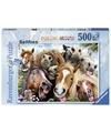 Paarden selfies puzzel 500 stukjes