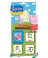 Peppa big stempel set 5 delig