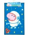 Peppa pig speelkleed blauw