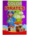 Piraten kleurboek