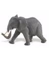 Plastic afrikaanse olifant 16 cm