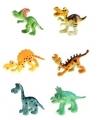 Plastic baby dinosaurussen 6 stuks